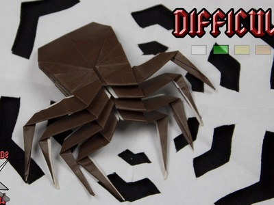 [ORIGAMI TUTORIAL] Spider || Halloween.Animals.Easy