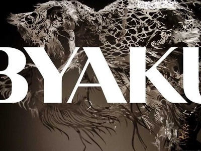 Paper Cut Sculpture -- Byaku (2013) Swimming Polar Bear -- Official Promo Film