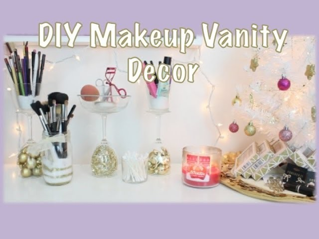 Simple, Chic & Fabulous DIY Vanity Decor