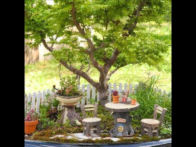 Summer Craft Art Project Ideas ✽ Fun & Cheap - Fairy Garden Craft Ideas