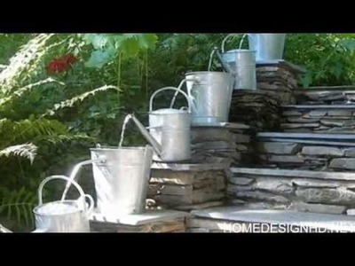 10 Waterfall Fountain Ideas to Adorn Your Garden