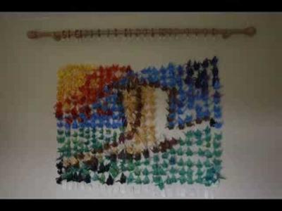 1000 Paper Origami Cranes Stop Animation