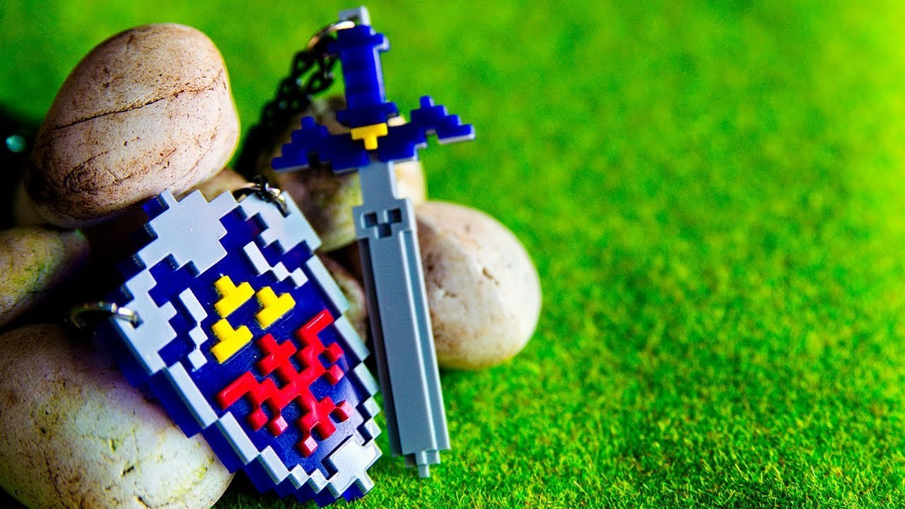 Awesome Legend of Zelda Necklace! -- Game LÜT #25
