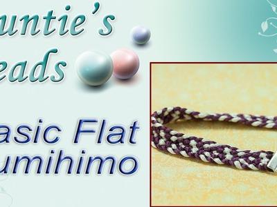 Basic Flat Kumihimo - Kumihimo Episode 5