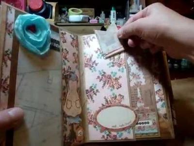 """BasicGrey """"Lucille"""" envelope mini album - scrapbooking mini album"""