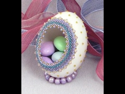 Beaded Easter Egg from Beads East