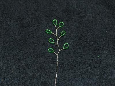 Beaded Vine of Leaves Tutorial