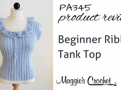 Beginner Ribbed Tank Top Product Review Product Review PA345