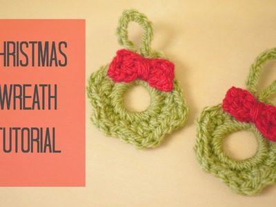 CROCHET: Christmas wreath tutorial | Bella Coco