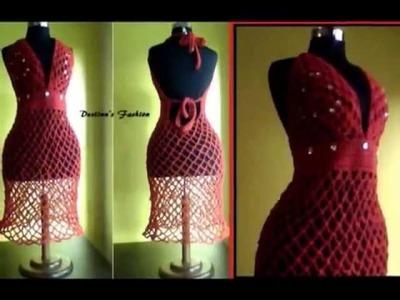 Crochet  Dress by Destinn's Fashion.