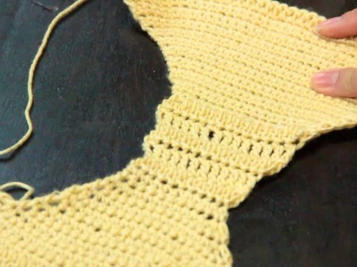 Crocheted Bras & Panty Instructions : Crochet Lessons