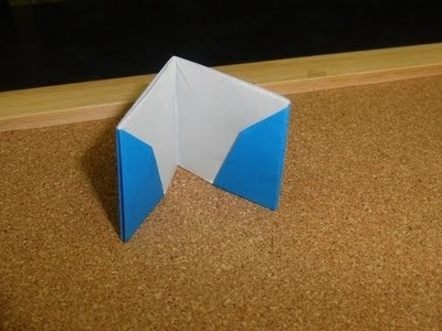 Daily Origami:  209 - Wallet (02)