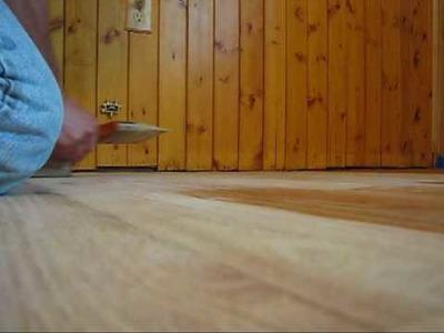 DIY 109 - Refinishing wood floors - Putting on finish - part 3 of 3