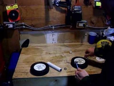 DIY 2-Wheeled Ab Rollers