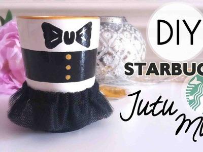 DIY Alice + Olivia STARBUCKS Tutu Mug :3