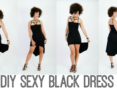 DIY Black Dress - Get the Tutorial Now for $7 99