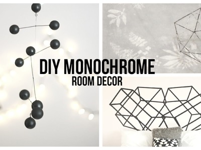«DIY EASY MONOCHROME ROOM DECOR-UO AND TUMBLR INSPIRED» | pacifically