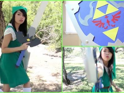 DIY Halloween Costume - Legend of Zelda: Link