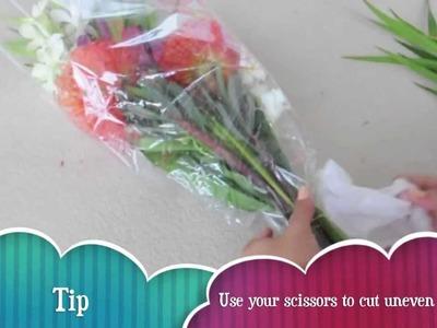 DIY l Send Flowers