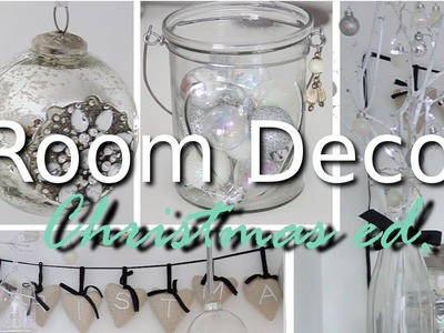 DIY Room Decor Ideas For Christmas | Carly Musleh