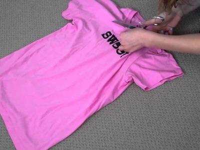 DIY: Shirt Reconstruction !