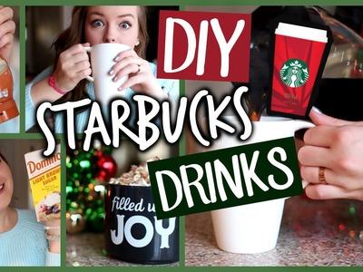 DIY Starbucks Holiday Drinks! Easy & Fun Recipes