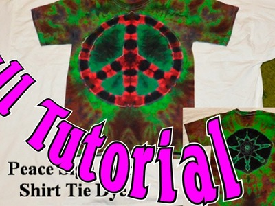 DIY: Tie Dye two designs on the same shirt [Tutorial]