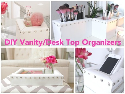 DIY Vanity.Desk Top Organizers