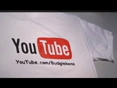 Easy Custom YouTube Shirt Tutorial