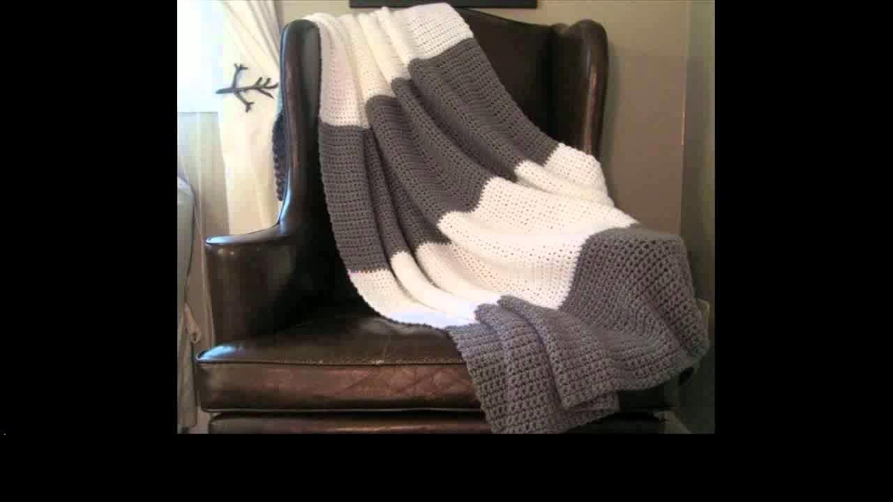 Easy to crochet blanket unique look