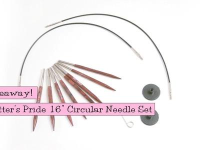 "Giveaway - Knitter's Pride Symfonie Rose 16"" Interchangeable Needle Set"