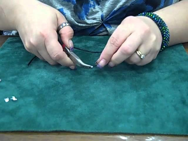 How-to: Attach a Clasp to a (Leather or Satin) Cord