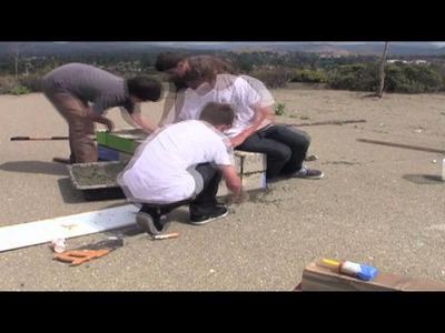 How to build a DIY skate ledge