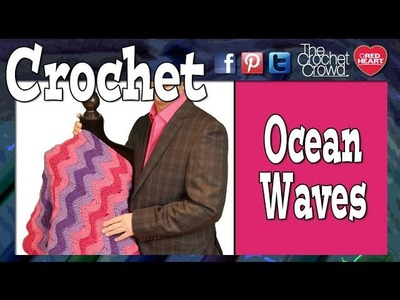 How To Crochet Ocean Waves Afghan