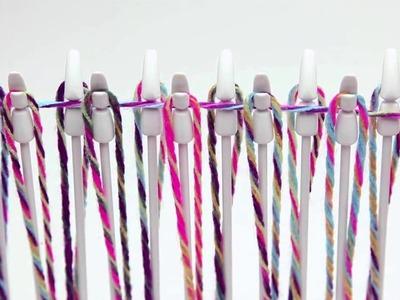 How-To: Loopdeloom Weaving Loom