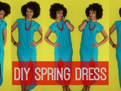 How To Make a DIY Spring Dress