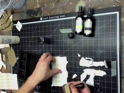 How to make an iphone holder using scrapbook paper with Garett Smith