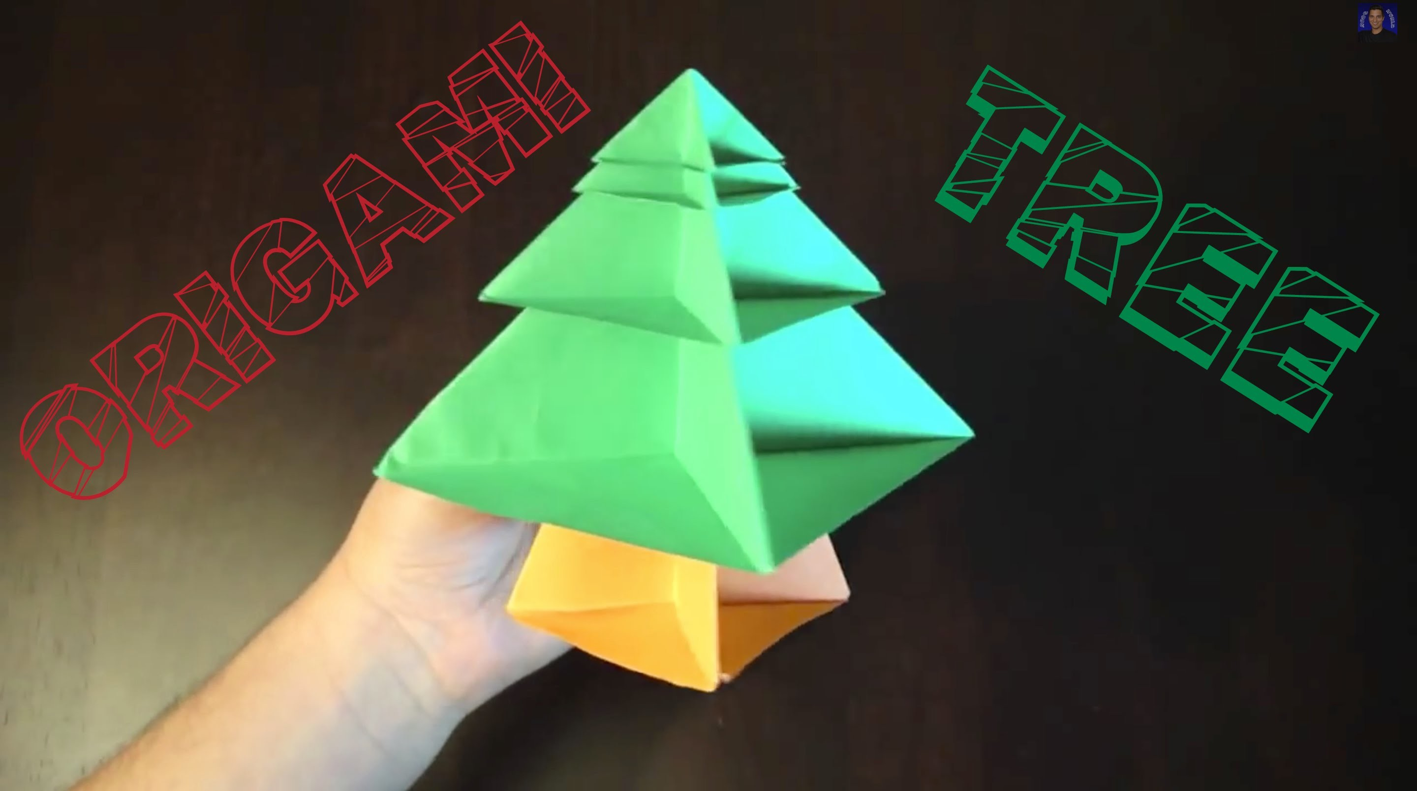 How to Make an Origami Christmas Tree (Modular)