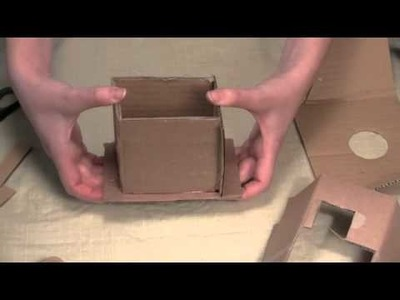 How to Make Candles: Make Your Own Cardboard Mold!