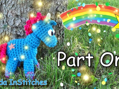 Magical Baby Unicorn! & Multi-Strand Crochet Tutorial - Project Intro