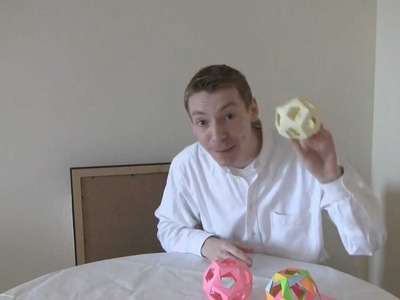 Make a Post-it Note Dodecahedron!