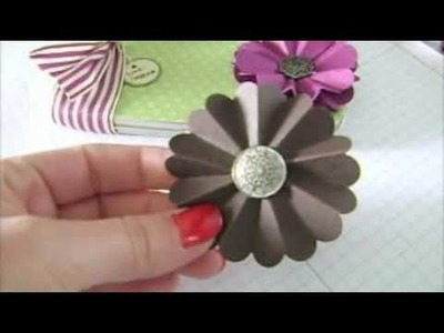 Make Flower Rosette Paper Stampin Up