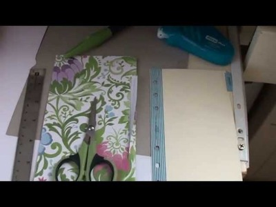 Make Your Own Filofax Divider Tutorial