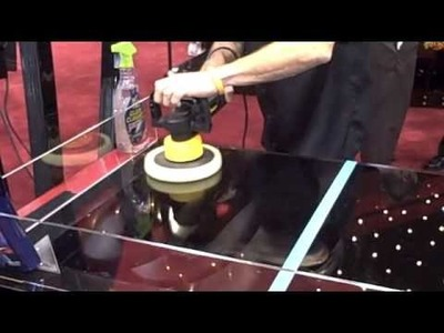 Meguiar's Demonstrate How To Remove Swirl Marks at SEMA 2009 - DIY Polishing Tips