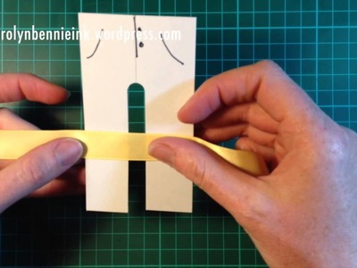 Pants Bow Maker Tutorial