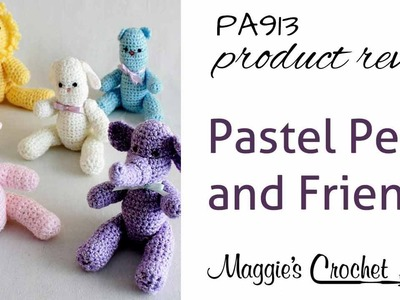 Pastel Pets and Friends Product Review PA913