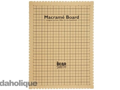 Product Spotlight: The BeadSmith Macrame Board