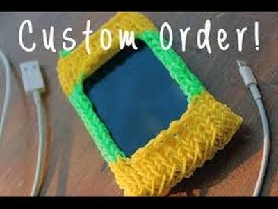 Rainbow loom nederlands ipod - iphone hoesje - loom bands