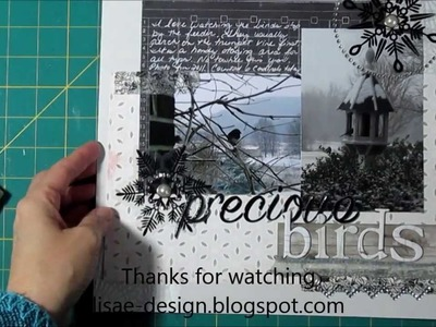 Scrapbooking Process Black and White only