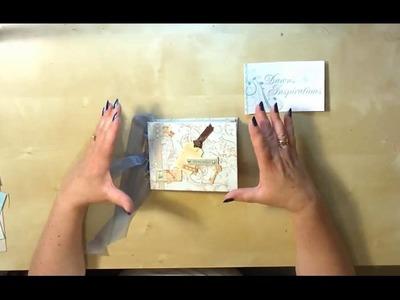 Simple Envelope Mini Scrapbook Album Online Workshop